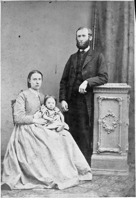 John Henry Field, Emma Field and daughter Wilhelmina