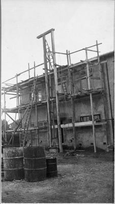 Construction Newstead Factory
