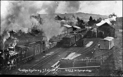Tuakau Railway Station