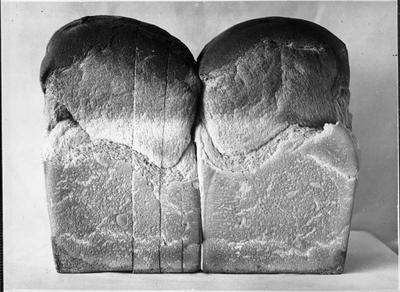 Loaves of bread baked