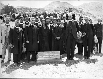 King Koroki and others - Commemoration Kawhia