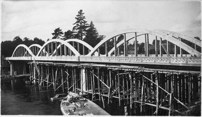 Fairfield Bridge under construction