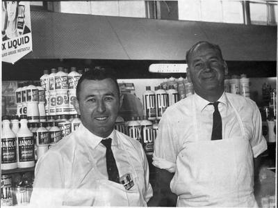 Mr W Moody and Mr Bowen, Faville Bakery