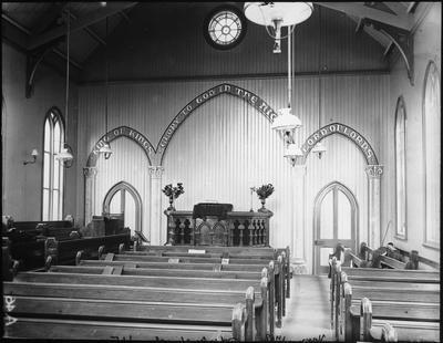 Interior Methodist Church