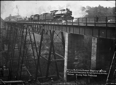 Testing Makatote Viaduct