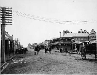 Hamilton Hotel, Victoria Street
