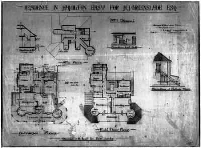 Plans - Greenslade House - Hamilton East