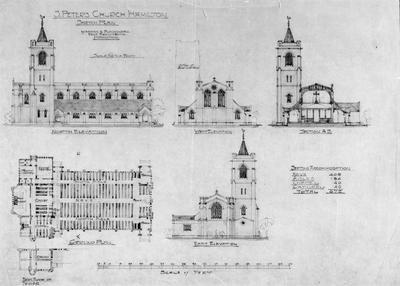 Plans - St Peters Church - Hamilton