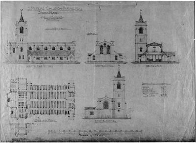 Plans - St Peters Church - Hamilton