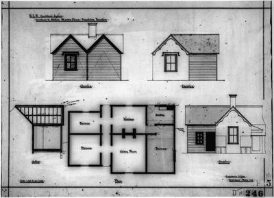 Plans - NZR Stationmaster's House