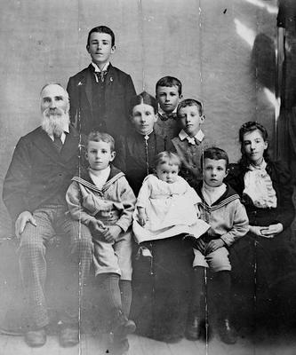 Charles Innes and family