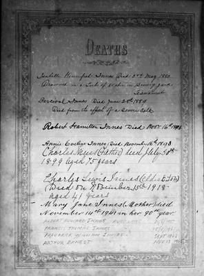 Innes Family Bible