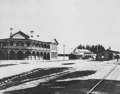 Ngaruawahia Railway Station