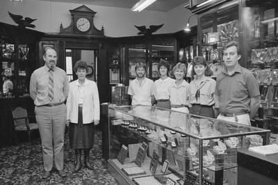 Interior of C F McCarthy Jewellers
