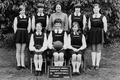 Tamahere School - Netball Team