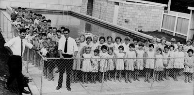 Tamahere School - Opening of Baths