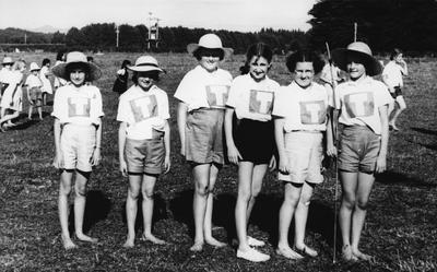 Tamahere School - Girls Athlete Team