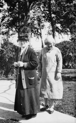 Granny and Jenny Steele