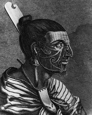 A NZ Warrior illustration