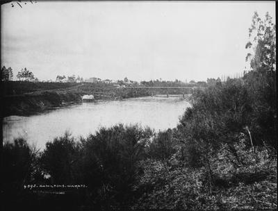 Waikato River and Union Bridge