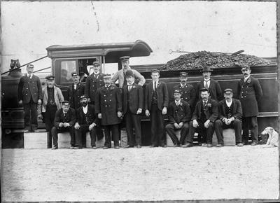 Frankton Junction railway station staff