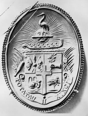 Seal of King Tawhiao