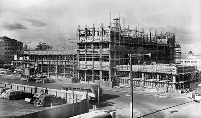HCC Building, Worley Street under construction