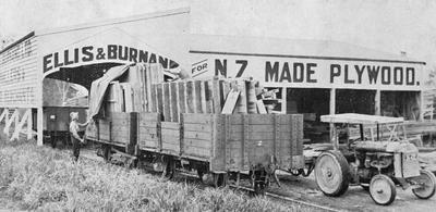 Ellis & Burnand - house sections on rail