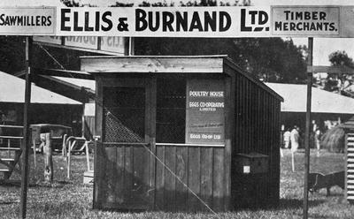 Ellis & Burnand - Poultry house