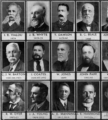 Former Mayors of Hamilton