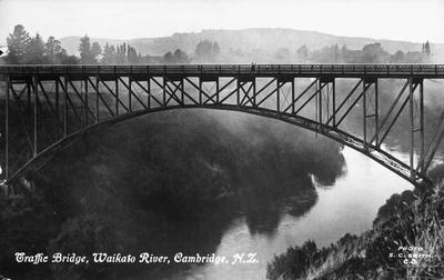 Traffic Bridge, Waikato River, Cambridge
