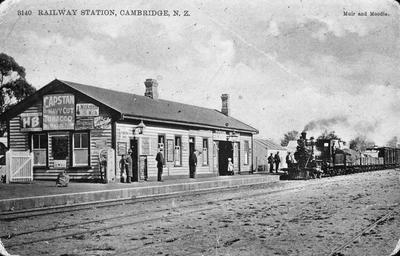 Railway Station, Cambridge