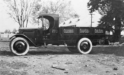Cambridge Co-op Dairy Co Ltd. Truck
