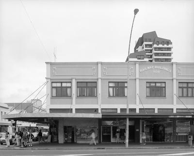 Railway Buildings in 1991