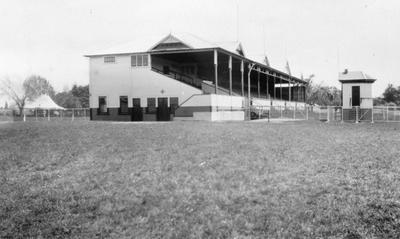 Racecourse and grandstand in Cambridge