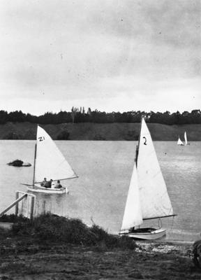 Yachting on Lake Karapiro