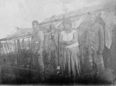 Ngaparu and his wife Waimeha