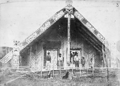 Ngati Maniapoto Runanga House, Te Kuiti