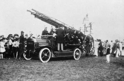 Fire engine display, Hamilton