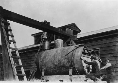 Ellis & Burnand boiler