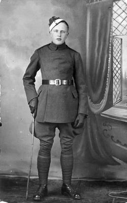 World War 1 - R.F.C. - cadet in uniform