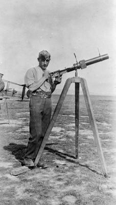 World War 1 - R.F.C. - Crewman and camera gun