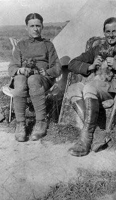 World War 1 - R.F.C. - two pilots