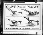Oliver Ploughs advert