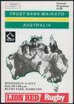 Trustbank Waikato versus Australia