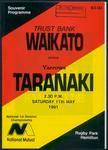Waikato v Taranaki