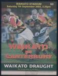 Waikato vs Canterbury