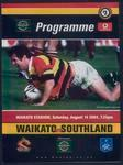 Waikato vs Southland