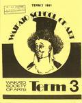 Waikato School of Art Term 3