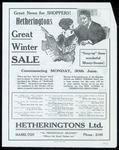 Hetheringtons Great Winter Sale
